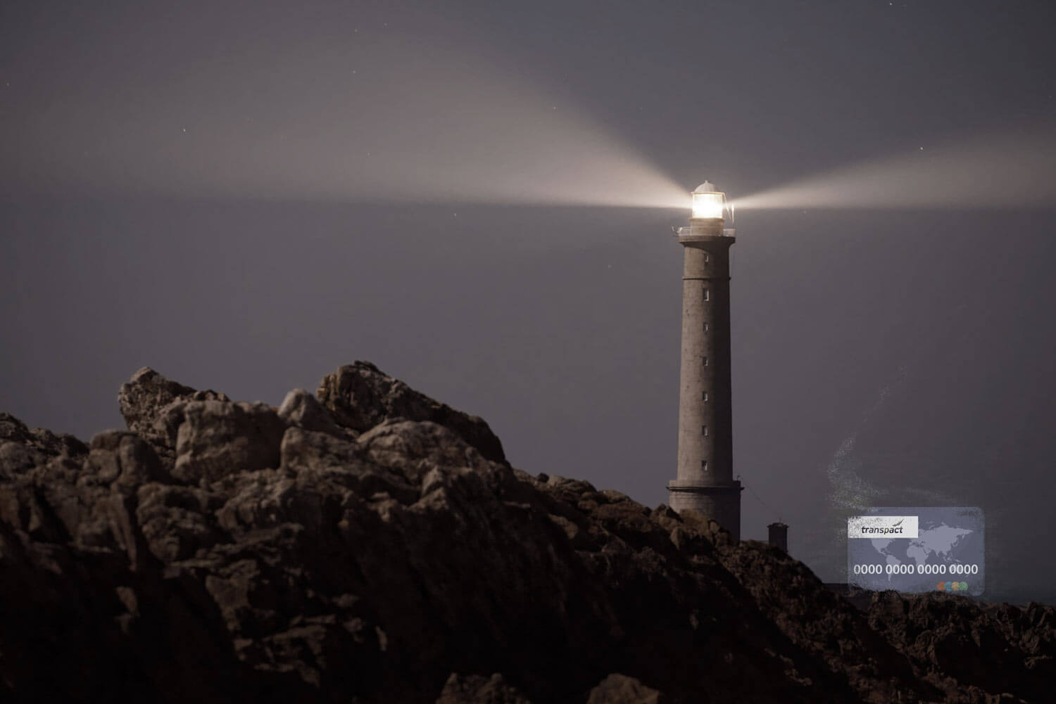 lighthouse to show secure waste trade with escrow