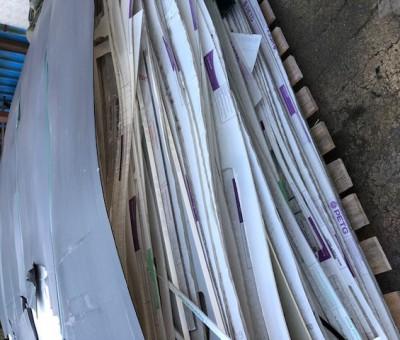 PET sheet off cuts
